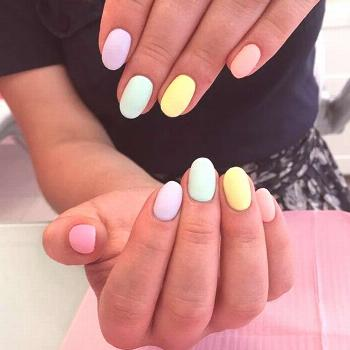 35 Extremely Cute Candy Nail Art Design; Winter Nails; Nails Art; Nails Design; Nails; Rainbow Nail