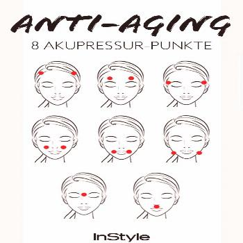Acupressure against wrinkles -  Acupressure against wrinkles: If you press these 8 points, your ski