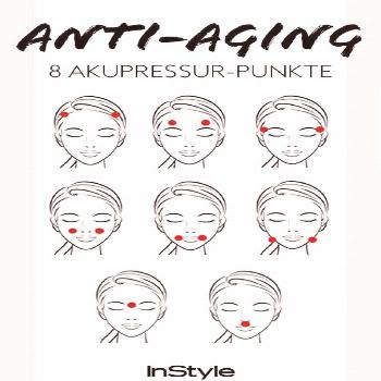 Acupressure against wrinkles If you press these 8 points your skin becomes firmer