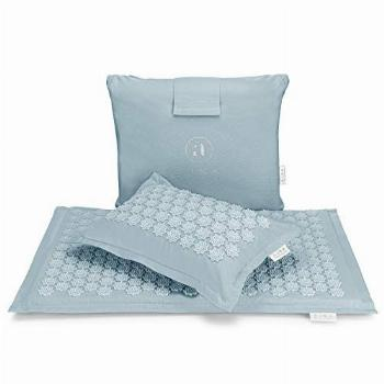 Acupressure Mat and Pillow Set - Ideal for Back Pain Relief