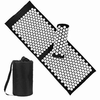 Acupressure Mat and Pillow Set with Bag - Large Size 49.2 X