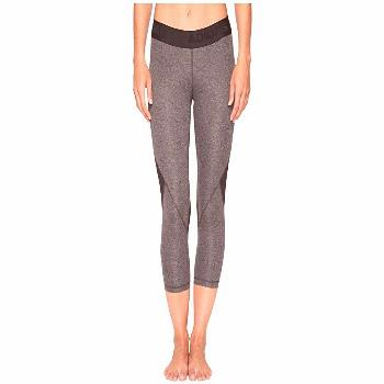 adidas Alphaskin Sport 3/4 Tights (Dark Grey Heather) Women's Workout. Take comfort to the next lev