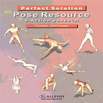 [Allpose Book] 9_Action poses(a) (for