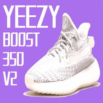 For sale original Adidas Shoes | Adidas Yeezy Boost 350 V2 outfit Static Reflective | Color: White/