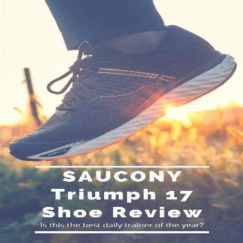 Is the Saucony Triumph 17 the best daily training shoe of the year? Read our full shoe review. With