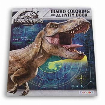 Lazy Days Jurassic World Jumbo Coloring and Activity Book -