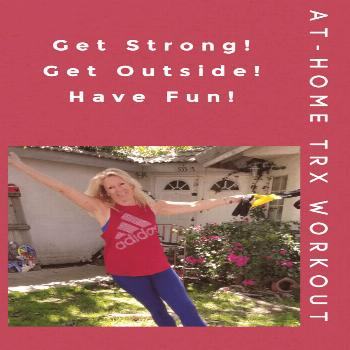 Now that the weather is warming up it's time to move that home workout outdoors! Here's a fun and c