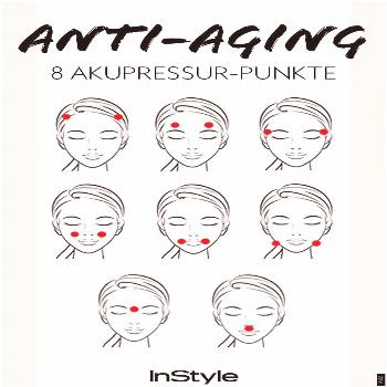 With acupressure against wrinkles! We reveal which of eight points, you made the best Anti-Aging ef